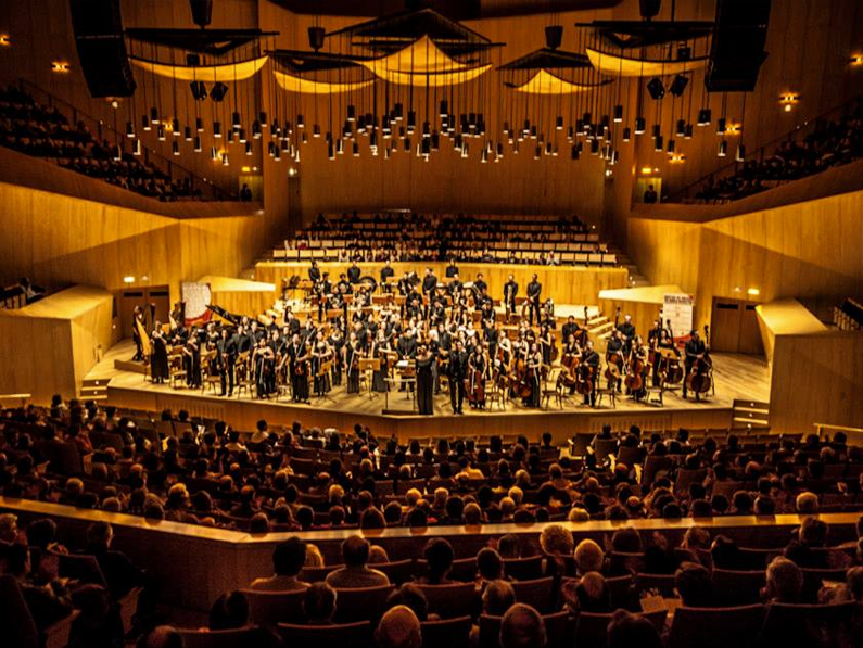 The World Orchestra</br></br><center> <h6>Booking en España</h6></center>