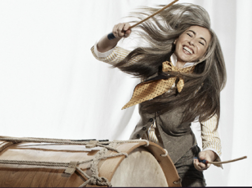 Evelyn Glennie</br></br><center> <h6>Booking en España</h6></center>